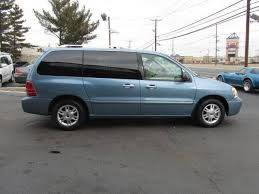 2007 MERCURY MONTEREY LUXURY 4DR MINI VAN blue  2007 mercury monterey  nice clean minivan one