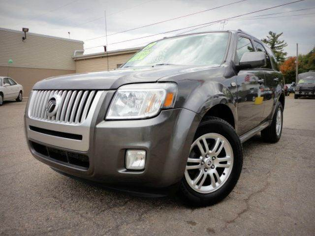 2009 MERCURY MARINER PREMIER V6 AWD sterling gray metallic two owner no accident 2009 mercury mar
