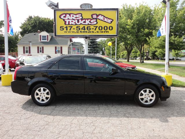 2007 CADILLAC CTS BASE 4DR SEDAN black  new to our inventory  pretty black 2007 cadillac cts