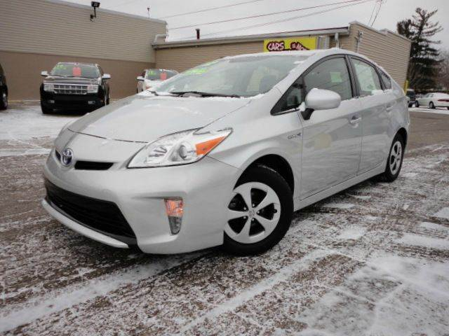 2012 TOYOTA PRIUS TWO 4DR HATCHBACK classic silver metallic 2012 toyota prius two hatchback hybrid