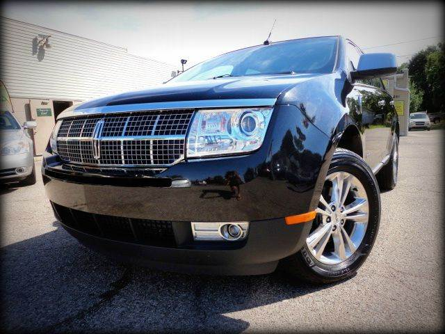 2010 LINCOLN MKX ELITE AWD SUV tuxedo black metallic absolutely stunning 2010 lincoln mkx all whee