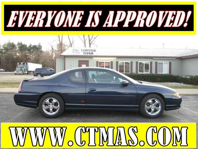 2002 CHEVROLET MONTE CARLO SS navy one owner used 2002 chevrolet monte carlo ss super clean in a