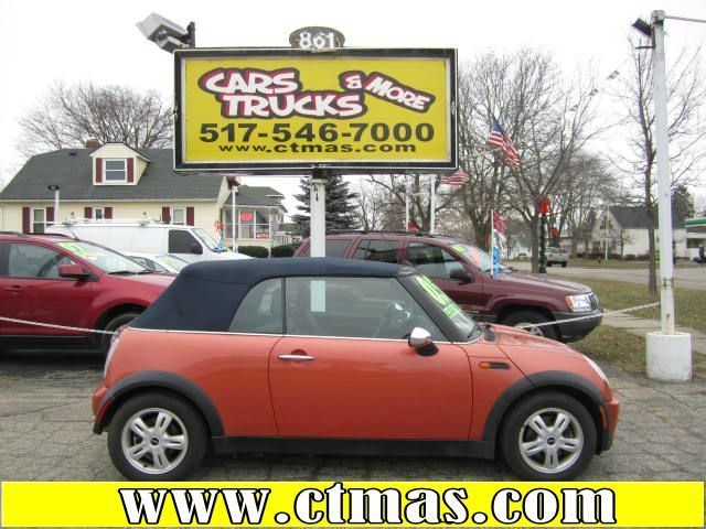 2005 MINI COOPER CONVERTIBLE orange one owner - no accidents spend your summer having fun in the