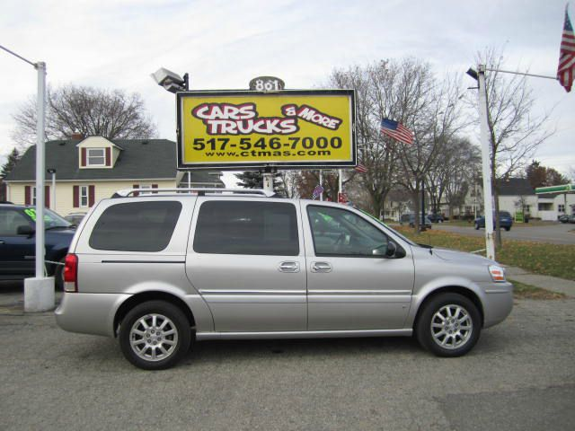 2006 BUICK TERRAZA CXL silver loaded premium 2006 buick terraza cxl minivan is full of options q