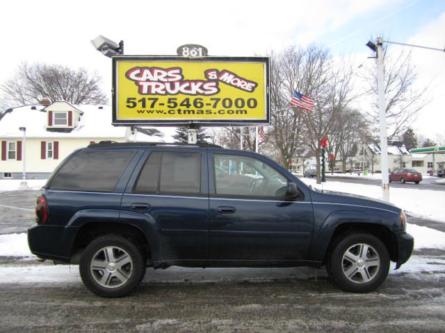 2007 CHEVROLET TRAILBLAZER LT2 4WD navy blue 2007 chevrolet trailblazer 4wd with lt2 trim this mi