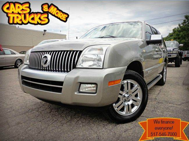 2008 MERCURY MOUNTAINEER PREMIER AWD vapor silver metallic  one owner no accident  2008 mercury