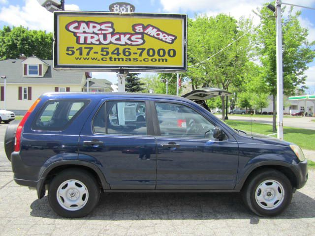2004 HONDA CR-V LX 2WD AT blue honda reliability and room for the family in this clean 2004 honda