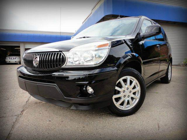 2007 BUICK RENDEZVOUS CX 4DR SUV black onyx nice 2007 buick rendezvous cx - only two previous own