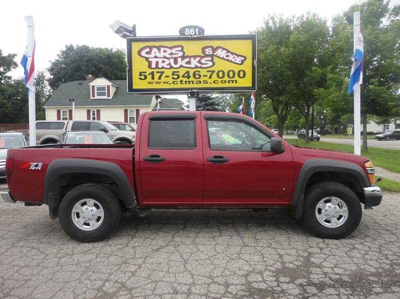 2006 CHEVROLET COLORADO LT 4DR CREW CAB 4WD SB burgundy 2006 chevy colorado - new to our inventor