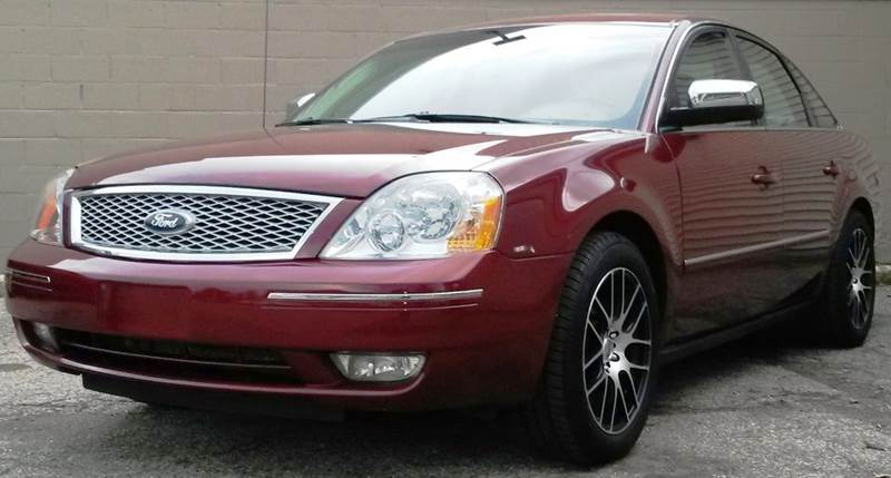 2006 FORD FIVE HUNDRED LIMITED AWD 4DR SEDAN maroon  2005 ford five hundred awd with limited pac