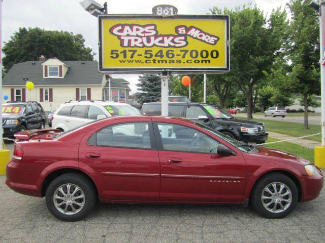 2001 CHRYSLER SEBRING LX 4DR SEDAN red more pictures and info coming soon  15 inch wheels casset