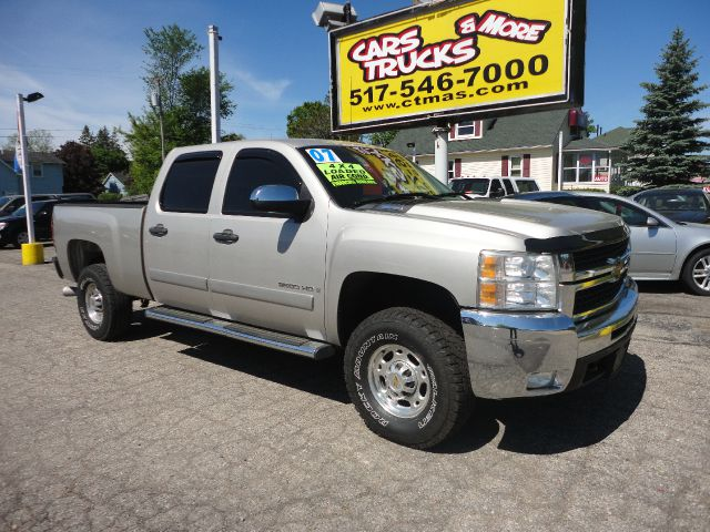 2007 CHEVROLET SILVERADO 2500 pewter 2007 chevy silverado 2500hd duramax diesel powerful heavy d