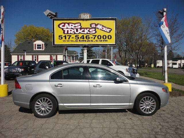 2007 VOLVO S80 32 4DR SEDAN silver  beautiful  loaded 2007 volvo s80 sedan luxurious ride with
