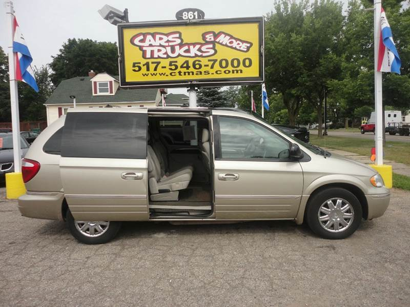 2005 CHRYSLER TOWN AND COUNTRY LIMITED 4DR EXTENDED MINI VAN silver  2005 chrysler town  countr