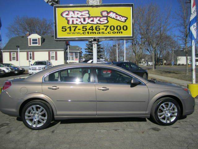 2008 SATURN AURA XE 4DR SEDAN V6 tan sharp   2008 saturn aura xe - very nice 4-door sedan with
