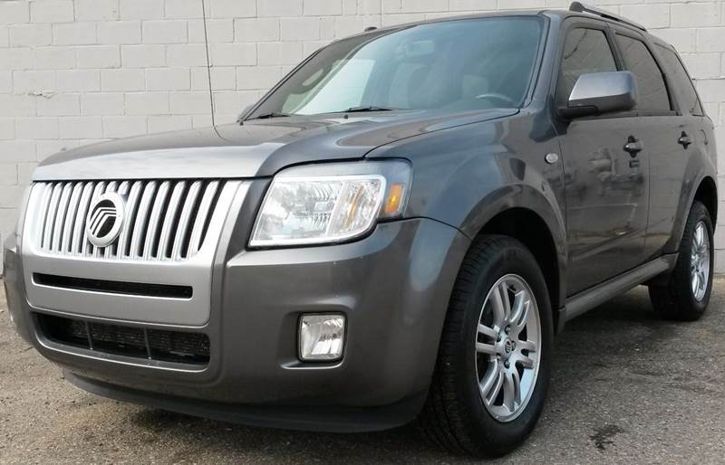 2009 MERCURY MARINER PREMIER V6 AWD 4DR SUV grey  2009 mercury mariner premier awd v6 with sterl