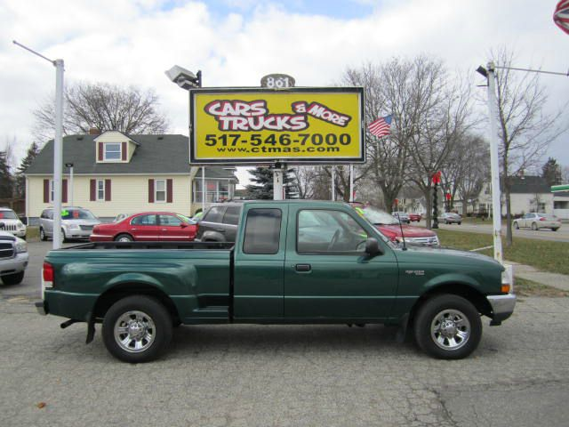 2000 FORD RANGER XLT SUPERCAB 2WD forest green one owner  nice used 2000 ford ranger xlt superca