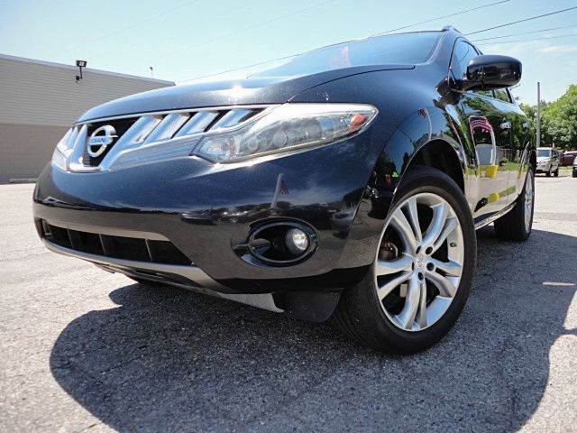 2009 NISSAN MURANO LE AWD 4DR SUV super black if you are looking for a top of the line used vehicl