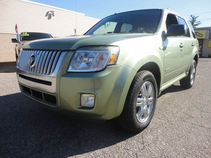 2008 MERCURY MARINER V6 4DR SUV kiwi green  2008 mercury mariner  only 74k miles on this premiu