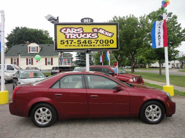 2005 CADILLAC CTS BASE 4DR SEDAN burgundy  2005 cadillac cts  nice driver with all the luxury o