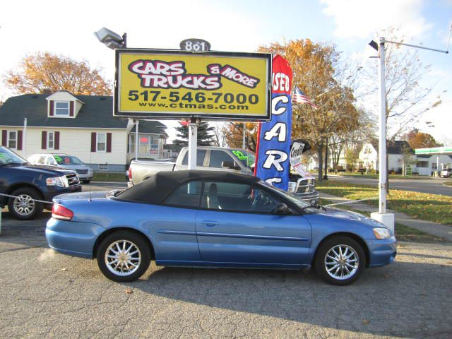 2002 CHRYSLER SEBRING LIMITED CONVERTIBLE steel blue pearl nice  luxurious 2002 chrysler sebring