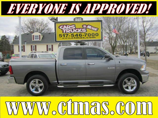 2009 DODGE RAM 1500 SLT CREW CAB 4WD mineral gray like new used 2009 dodge ram 1500 big horn edit