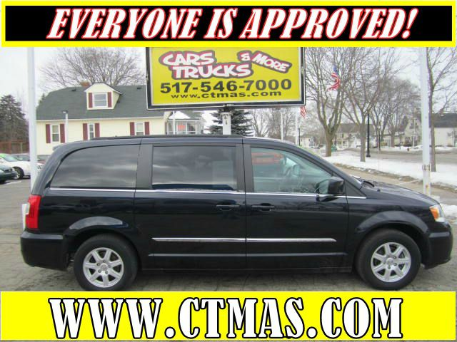 2011 CHRYSLER TOWN  COUNTRY TOURING black this clean used 2011 chrysler town and country is ready