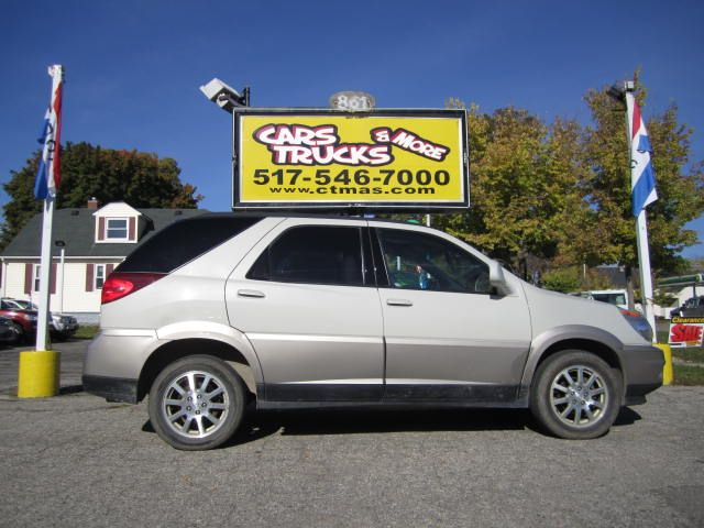 2005 BUICK RENDEZVOUS CX 4DR SUV tan very nice 2005 buick rendezvous cx this front-wheel-drive cr