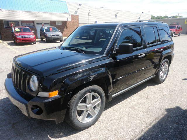 2007 JEEP PATRIOT SPORT 4WD 4DR SUV black  2007 jeep patriot  durable jeep brand - 4wd to get y