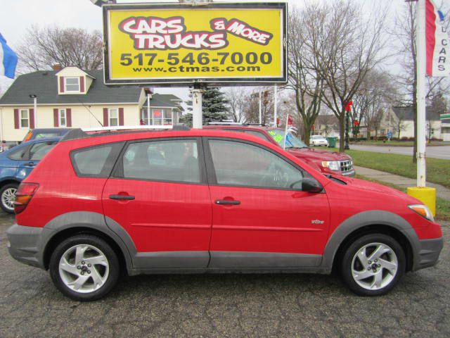 2003 PONTIAC VIBE BASE FWD 4DR WAGON red 2003 pontiac vibe hatchback sporty clean inside and