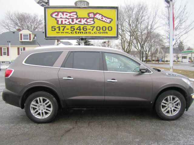 2009 BUICK ENCLAVE CX AWD 4DR SUV bronze  very nice   2009 buick enclave awd cx with 3rd row se