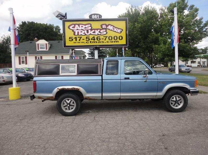 1990 FORD RANGER BASE 2DR 4WD EXTENDED CAB SB blue  1990 ford ranger pickup 4wd rare 6 cylinder