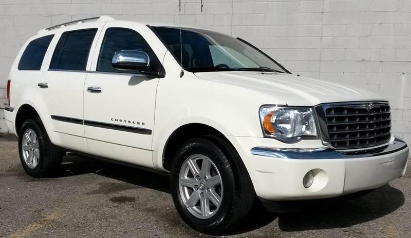2008 CHRYSLER ASPEN LIMITED 4X4 4DR SUV white  2008 chrysler aspen limited awd   2-stage unlock
