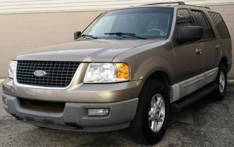 2003 FORD EXPEDITION XLT 4WD 4DR SUV tan  2003 ford expedition  full-sized 3rd row suv - 4 whee