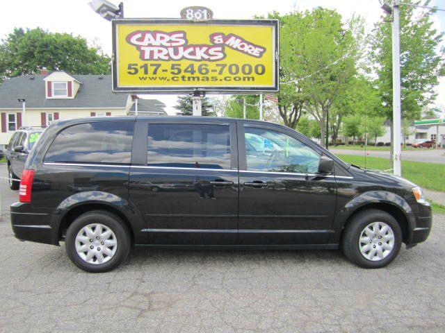 2010 CHRYSLER TOWN AND COUNTRY LX black nice 2010 chrysler town  country with stow-n-go seating