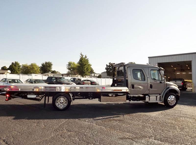 2016 Freightliner M2 Crew Cab Rollback Wrecker Flatbed