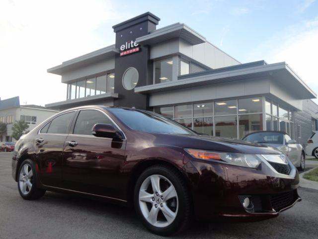 2010 Acura Tsx 5 Speed At With Tech Package In Virginia