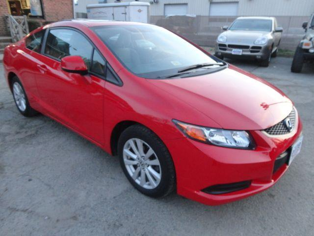 2012 Honda Civic Ex Coupe At One Owner Sunroof