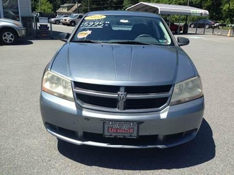 2008 Dodge Avenger for sale in Germansville, PA
