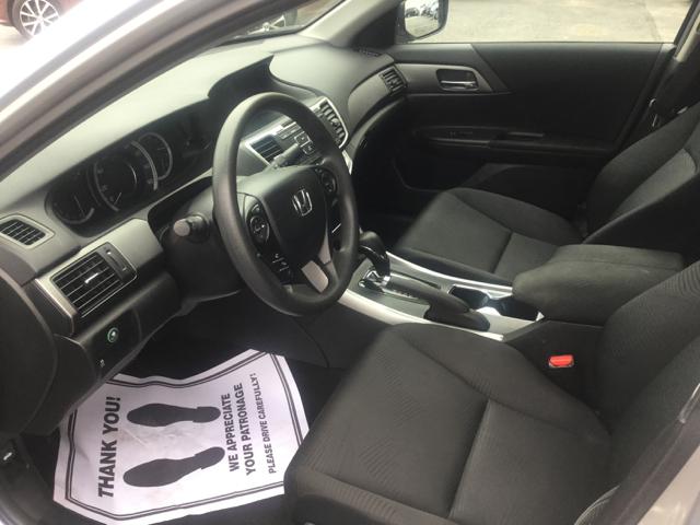 2014 Honda Accord LX 4dr Sedan CVT - Worcester MA