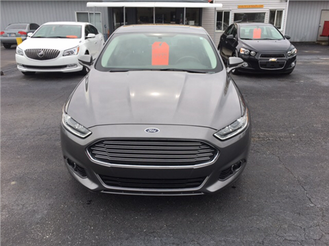 2014 Ford Fusion for sale in Camby, IN