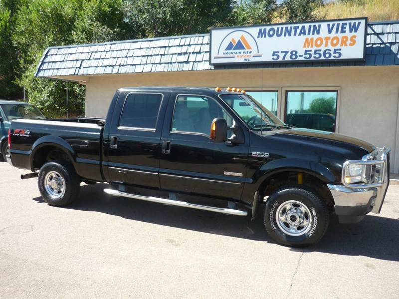 2003 ford f 250 super duty for sale in colorado springs for Mountain view motors colorado springs co