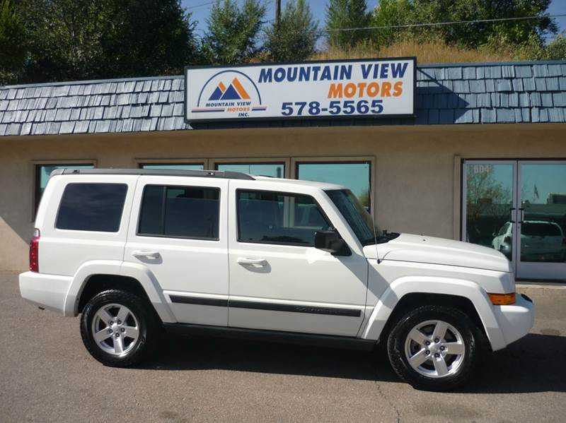 2008 jeep commander for sale in colorado springs co for Mountain view motors colorado springs co