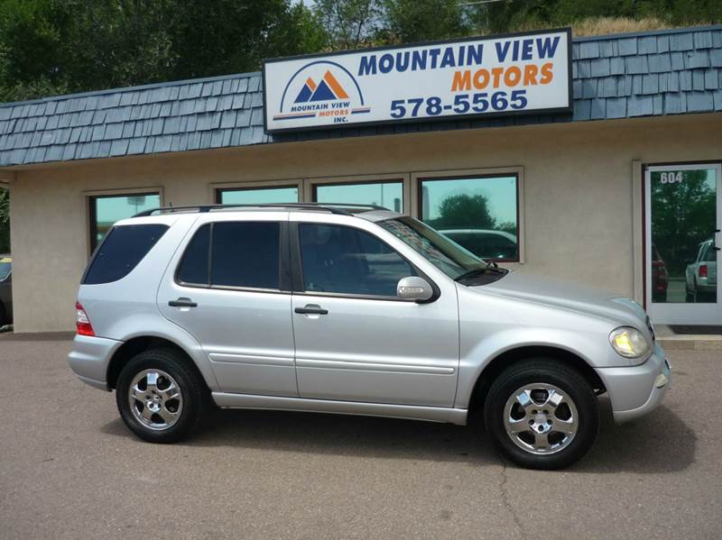 2005 mercedes benz m class awd ml350 4matic 4dr suv colorado springs co - Mercedes Suv 2005