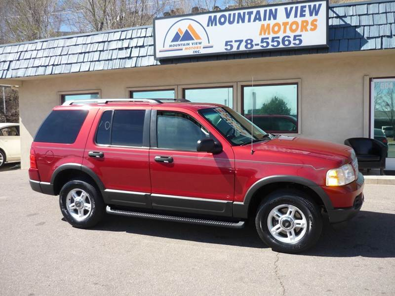 2003 ford explorer 4dr xlt 4wd suv in colorado springs co