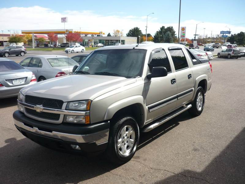2005 chevrolet avalanche 1500 z71 4dr 4wd crew cab sb in for Mountain view motors colorado springs co