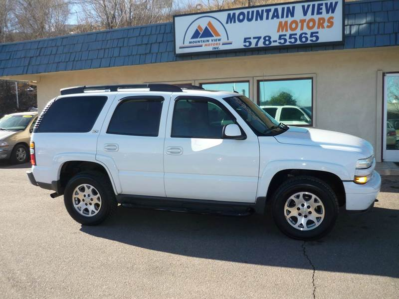 2004 chevrolet tahoe z71 4wd 4dr suv in colorado springs