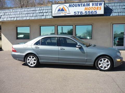 Mountain view motors inc used cars colorado springs co for Mercedes benz mountain view