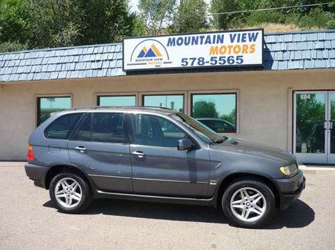 2003 bmw x5 for sale for Mountain view motors colorado springs co