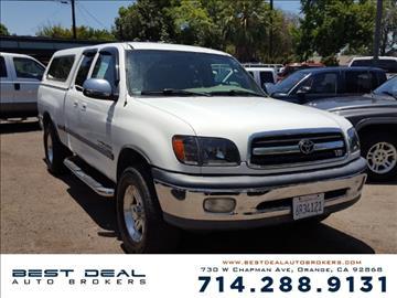 2001 Toyota Tundra for sale in Orange, CA